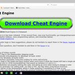Cheat Engine Baixar