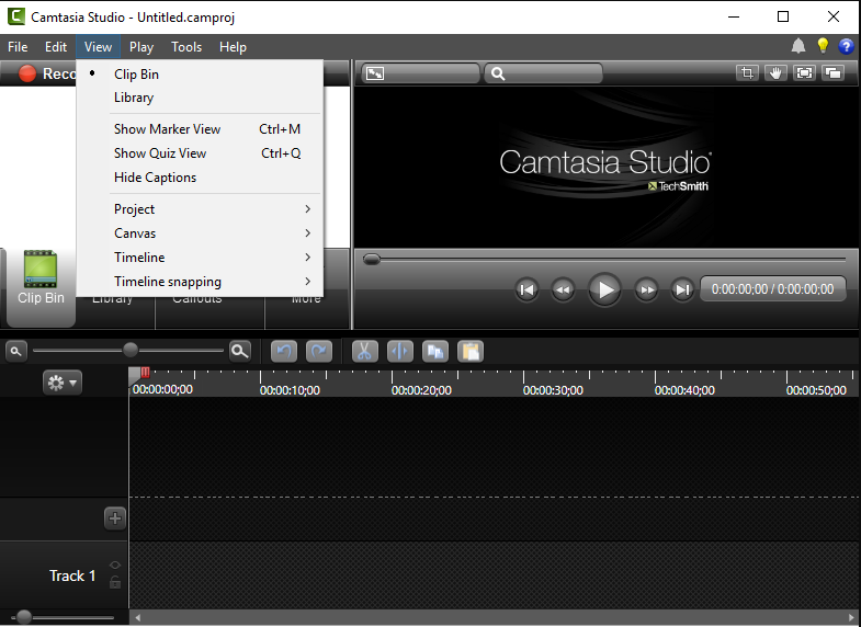 Camtasia Studio 7 Baixar