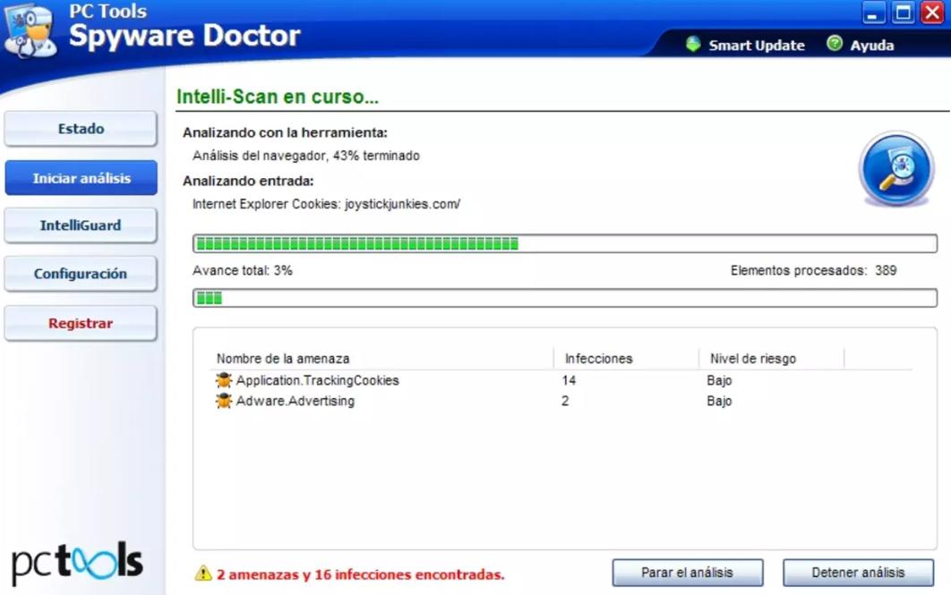 Spyware Doctor Baixar
