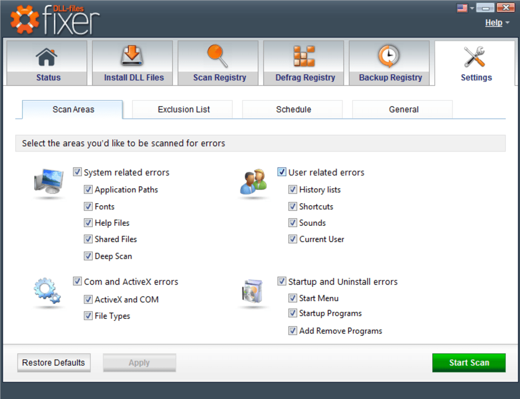 Download do fixador de arquivos DLL
