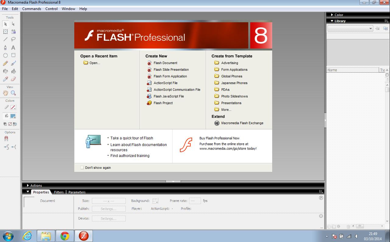Macromedia Flash 8 Baixar